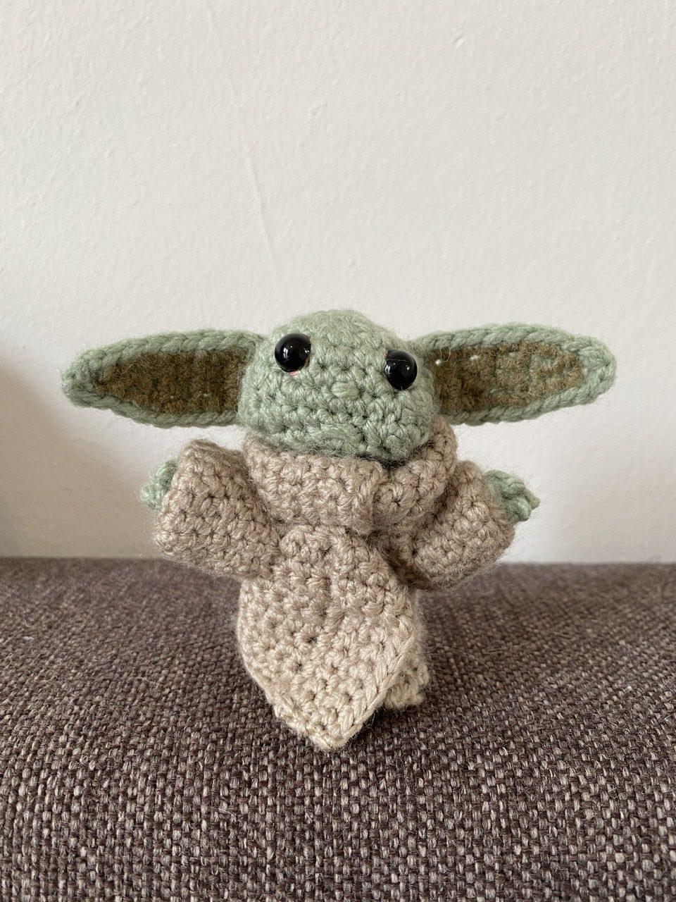 Mini Baby yoda voorkant