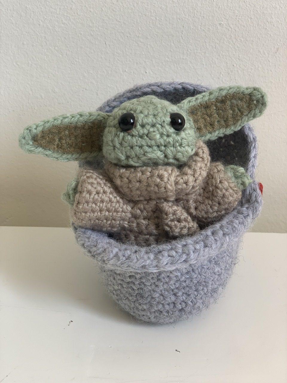 Baby Yoda in spacepod