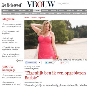 Printscreen website telegraaf